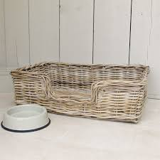 wicker dog bed. Simple Bed Wicker Dog Bed Basket Hover To Zoom Click Here For A Bigger Picture Inside