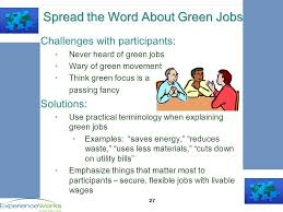Developing Green Industry Strategies For Older Workers Mapping