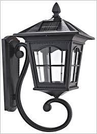 motion sensor outdoor light solar v wall light black exterior solar wall lamp