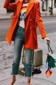 Light Orange Blazer This Orange Blazer Will Make You Stand Out Orange Blazer