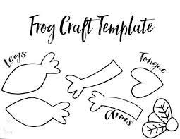 tree frog template printable frog template frog craft template free printable cut