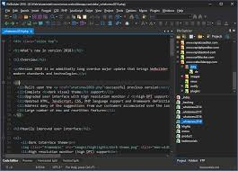 WeBuilder - code editor for HTML, CSS, JavaScript, PHP, ASP, Ruby ...