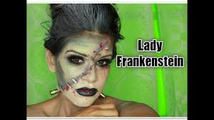 lady frankenstein makeup with s you have at home