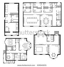 modern office floor plans. Modern Office Architectural Plan Interior Furniture And Construction Design Drawing Project Floor Plans F