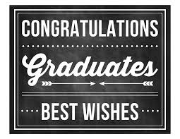 Printable Signs For Graduation Party Download Them Or Print