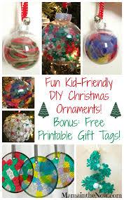 Christmas Decorations Diy Easy Kid Friendly Diy Christmas Ornaments