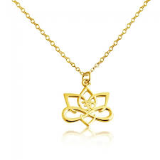 necklaces flowers gold plated necklace big lotus flower save loading zoom