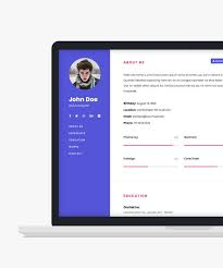Free Personal Websites Templates Htmltemplates Co