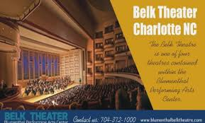 Curious Belk Theater Seating 2019