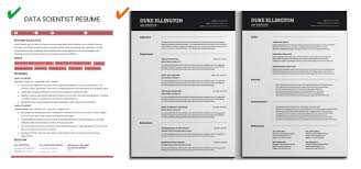 Sentence For Resumes How To Build An Effective Data Science Resume 4 Key Aspects