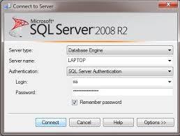 re sql server connection string