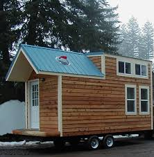 Small Picture This Mobile Tiny House Looks Like A Cabin Inside And Out