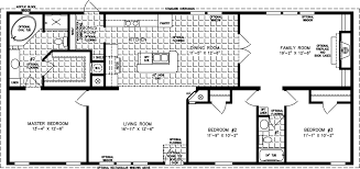 manufactured home floor plan the imperial model imp 46022b 3 bedrooms 2