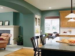 Wall paint color for small living room .