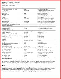 Special Skills For Acting Resume Acting Resume Special Skills List Fishingstudio 26
