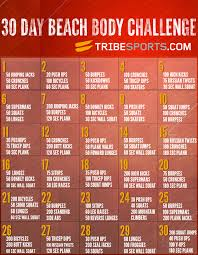 30 Day Beach Body Workout Image Beach Body Challenge