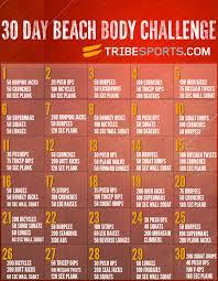 30 Day Beachbody Challenge Chart 30 Day Beach Body Workout Image Beach Body Challenge