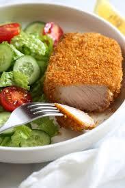 crispy breaded pork chops easy air