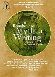 up roundtable on philippine mythology