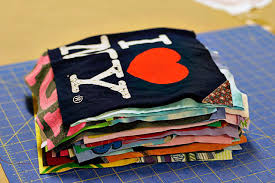 A T-Shirt Quilt (A Tutorial) & How to make a memory quilt from baby blankets, clothes and t-shirts. Adamdwight.com