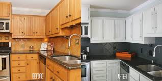 Renovation Kitchen Cabinets How To Paint Kitchen Cabinets Before And After Clever Ideas Next