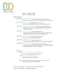 Danielle Ostrow Art Director Resume
