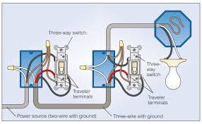 how to wire a 3 way light switch family handyman how to wire 3 way switch 1