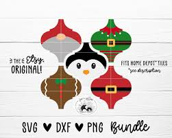 Free transparent christmas vectors and icons in svg format. Tile Christmas Ornament Svg Bundle Arabesque Lantern Shape Etsy In 2020 Christmas Ornaments Ornament Template Christmas Crafts