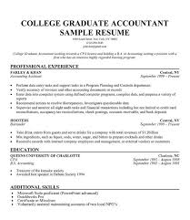 Resume For Recent College Graduate Template Resume Template For