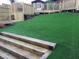 artificial grass on slope