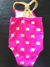 Baby Girls Circo Target Hot Pink Gold Elephant Print One Piece ...