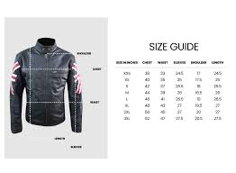 Uk Tops Size Chart So Shway Men Women Leather Jackets Online Store Uk