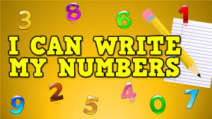 i can write my numbers writing numbers for kids