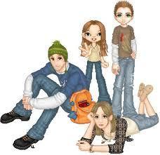 Resultado de imagen de fotos grupos adolescentes