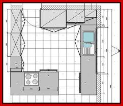 Kitchen Floor Plan Designer Designing A Kitchen Floor Plan