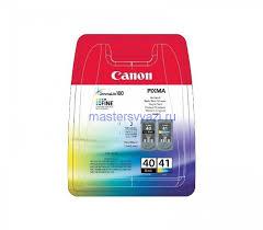 <b>Картридж Canon PG</b>-<b>40</b> + CL-41 <b>Multipack</b> оригинальные купить в ...