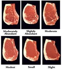 Meat Marbling Chart Beef Grades The Dairy Site