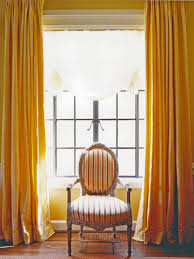 Orange And Yellow Living Room Rooms Viewer Hgtv