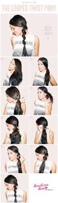 5 Minute Hairstyles For Girls Best 25 Cute Easy Ponytails Ideas On Pinterest Cute Ponytails