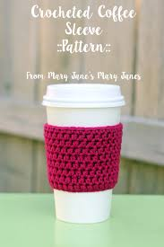 Starbucks Cup Cozy Crochet Pattern Awesome Decorating Ideas