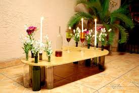 Introduction: Wine Bottle Table