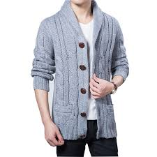 <b>Autumn Large size</b> S XL XXL XXXL Thicken Cardigan Sweater ...