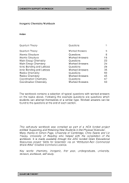 Atomic Structure And Chemical Bonds Worksheet Answers Free ...