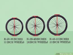 How To Size A Bike With Pictures Wikihow