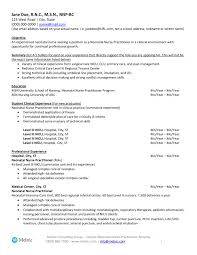 Family Nurse Practitioner Resume Examples Geriatric Nurse Practitioner Resume Example Awesome 24 Cv Template 16