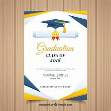Graduation Invitation Vectors Photos And Psd Files Free