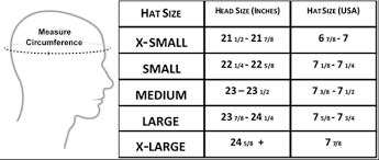 Hat Glove Sizing