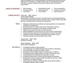 210 x 140 sous chef resume personal summary duties duties of a chef