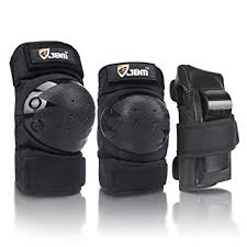JBM Adult/Child Knee Pads Elbow Pads Wrist Guards 3 in <b>1</b>