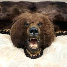 faux bear rug faux bear skin rugs faux bear rug grey faux fur rug fake animal faux bear rug